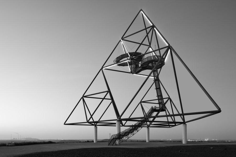 Architekturfotografie Tetraeder